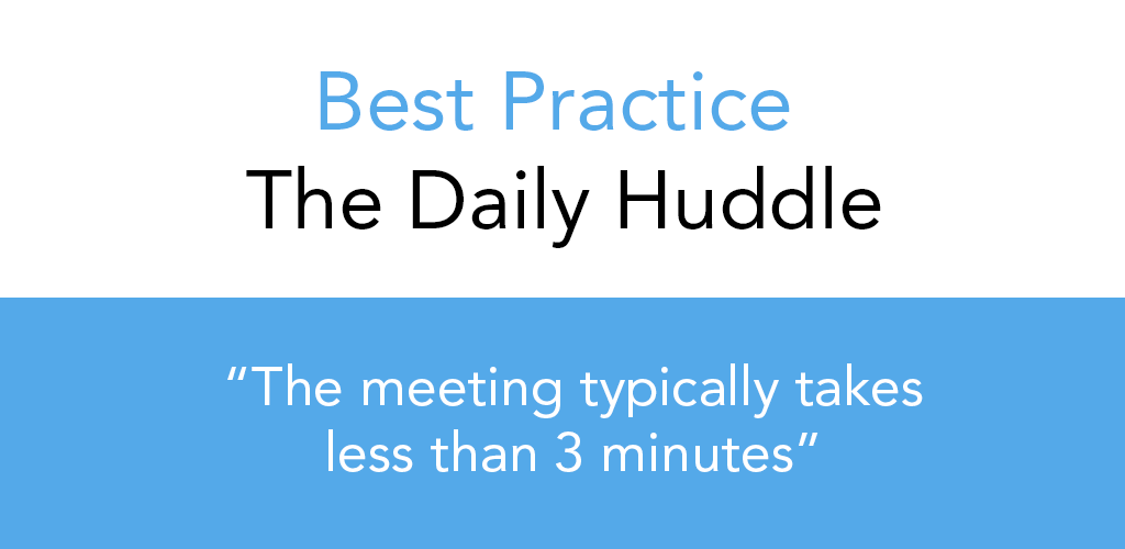 Best Practice - The Daily Huddle