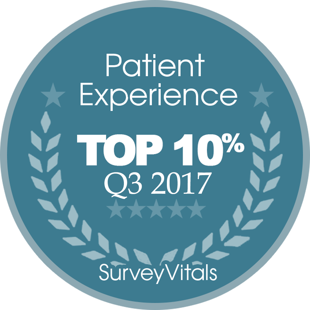 SurveyVitals Top 10 Q3 2017