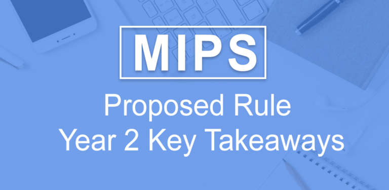 MIPS Year 2 Proposed Rule
