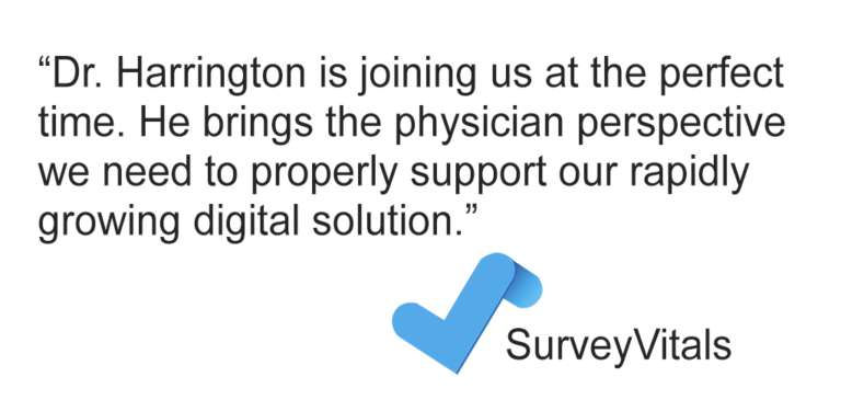 Robert Harrington CMO SurveyVitals