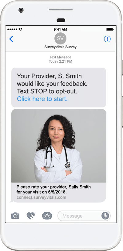 Outpatient Experience SMS Survey