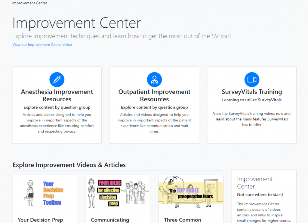 Improvement Center Featured Articles and Videos